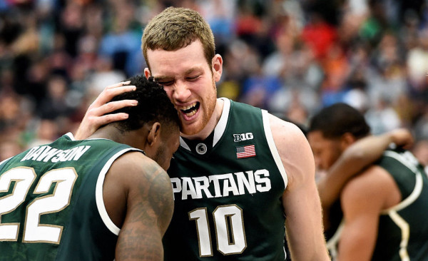 Michigan State is headed to Indianapolis. (Dennis Nett / Syracuse.com)