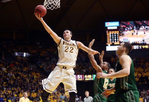 Wyoming made magic in the Mountain West Tournament. (Alan Rogers, Casper Star-Tribune via AP)