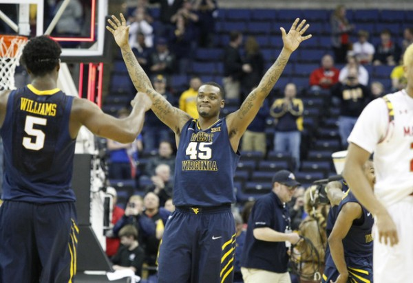 West Virginia's pressure was too much for Maryland tonight. (Joe Maiorana/USA TODAY Sports)