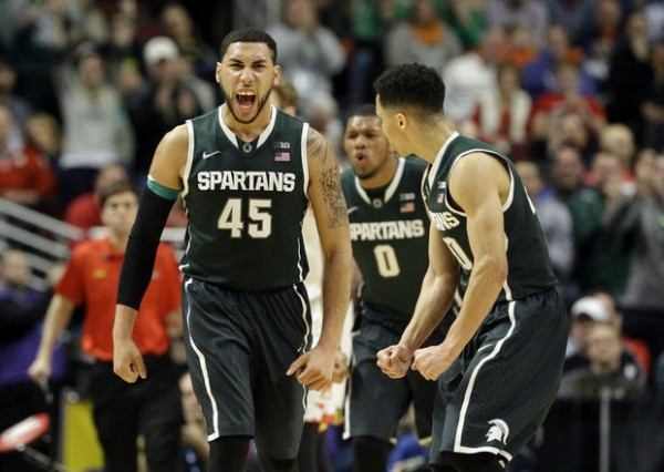 Michigan State will battle Georgia in Charlotte. (AP Photo/Nam Y. Huh)