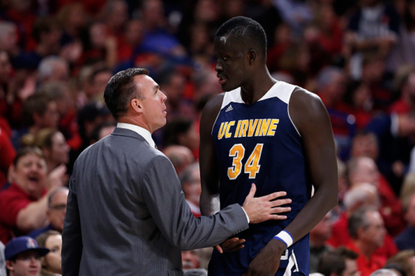 UC Irvine is headed to the NCAA Tournament for first time in school history. (Getty Images)