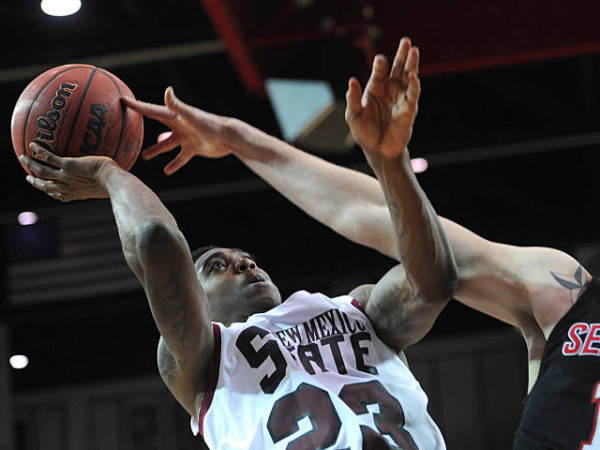 New Mexico State is going dancing for the fourth-straight year. (Photo by Tim Barnett-Queen)
