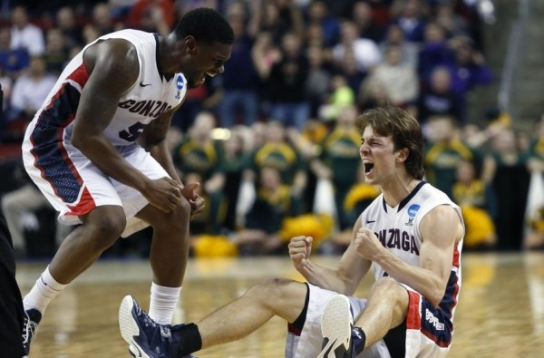 Gonzaga's Senior Backcourt Of Gary Bell And Kevin Pangos Will Play In Their First Sweet Sixteen Friday Night. Can They Help Lead The Zags To Their First-Ever Final Four? (USA Today Sports)