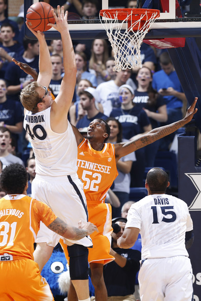Matt Stainbrook came to play against Mississippi. (Joe Robbins/Getty Images)