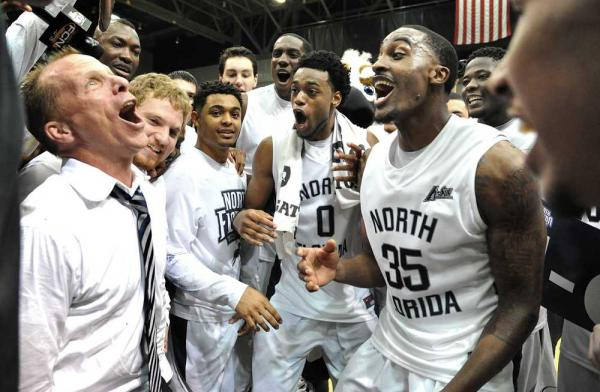 North Florida is headed to the NCAA Tournament for the first time in school history. (Bruce Lipsky / St. Augustine Record)
