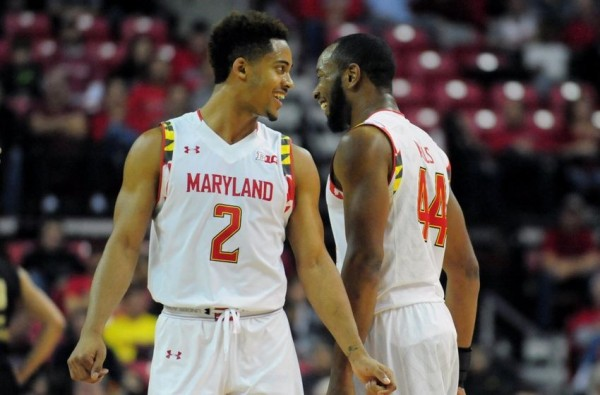 Melo Trimble And Dez Wells Spearheaded Maryland's Quarterfinal Victory Friday Night (USAT Sports)