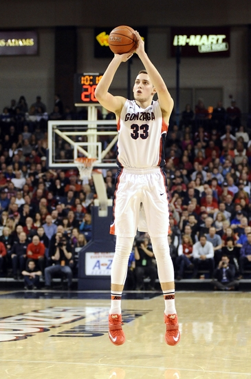 Kyle Wiltjer Leads Gonzaga to the Bahamas (USA Today)