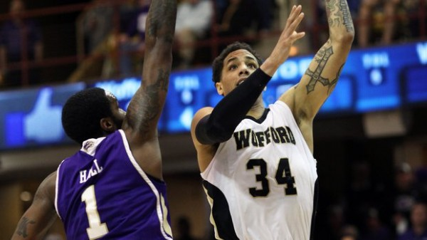 Wofford will be a scary #12-seed next week if the matchup is right. (AP Photo/Adam Jennings)