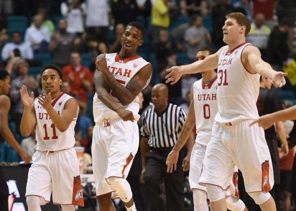 Delon Wright Wasn't At His Best This Weekend, But Still Helped Utah Post Wins Against Stephen F. Austin And Georgetown (Getty)