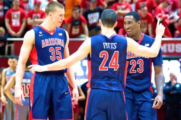 Arizona Earned Another Conference Title On The Strength Of A Full Team Effort (USA Today)