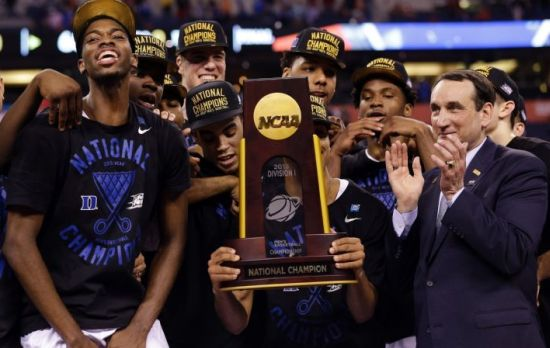 Once again, Duke is on top of the college basketball world. (AP Photo/David J. Phillip)