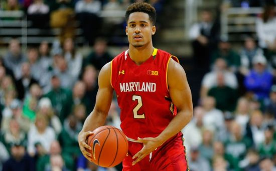 Melo Trimble did a little bit of everything for Maryland as they knocked off Northwestern on Saturday night. (Leon Halip/Getty Images)