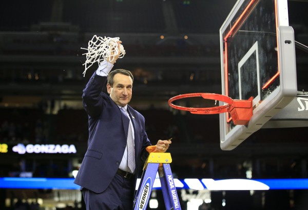 Coach K's 12th Final Four (USA Today Images)