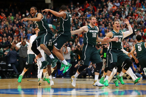 Michigan State needs to be extra sharp on Saturday. (Elsa/Getty Images)