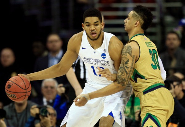Karl-Anthony Towns Was Virtually Unstoppable In Saturday's Regional Final. (USA Today Sports)