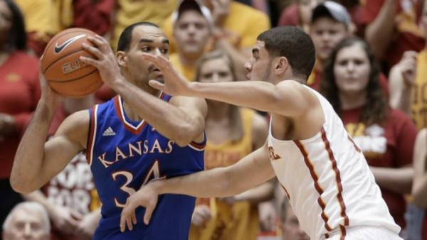 After coming just short of unseating Kansas in 2015, Iowa State will take another crack at the Jayhawks in 2016. (AP Photo/Charlie Neibergall)
