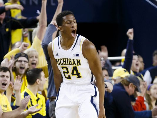 Aubrey Dawkins emerged as a diamond in the rough for Michigan last season (Rick Osentoski, USA Today).