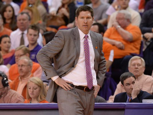 Clemson's Brad Brownell has an improved offense and a surprisingly big home court edge in ACC play. (Bart Boatwright/greenvilleonline.com)