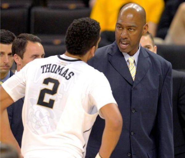 Danny Manning needs to mold Devin Thomas into a more efficient player this season. (photo: Winston-Salem Journal)