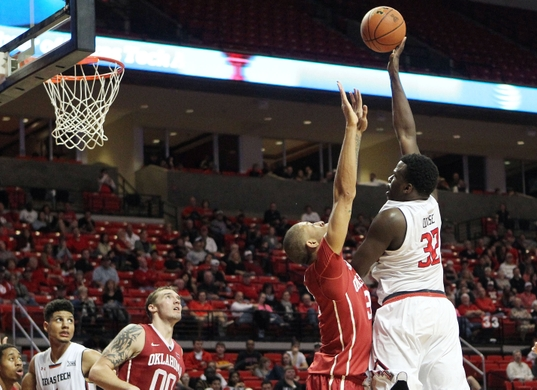 Norense Odiase will lead Texas Tech's rising sophomore class. (Michael C. Johnson/USA Today Sports)