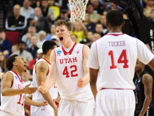 With Jakob Poeltl Patrolling The Paint, The Utes Defense Is A Serious Strength (Godofredo Vasquez, USA Today)