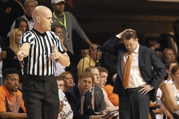 Head coach Travis Ford is entering his eighth season as Oklahoma State's coach. (Tyler Drabek/Tulsa World)