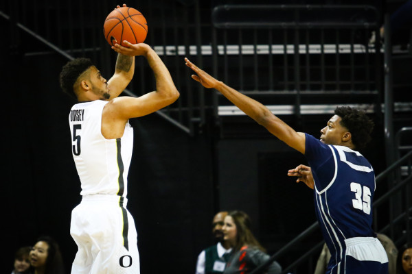 Tyler Dorsey Put On A Show Last Night, But Can He Keep It Up?(Samuel Marshall/Daily Emerald)