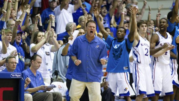Despite some early season struggles, Bill Self and Kansas are still the clear favorite in Maui. (Getty)