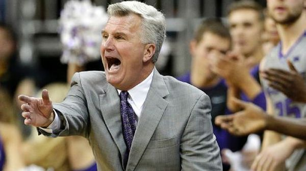 Bruce Weber's crew had a good night in Kansas City. (AP Photo/Charlie Riedel)