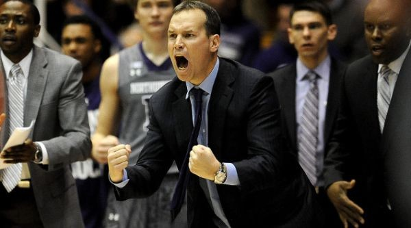 Whatever Chris Collins did to fire up his team worked as the Wildcats were hot from deep. (AP Photo/Matt Marton)