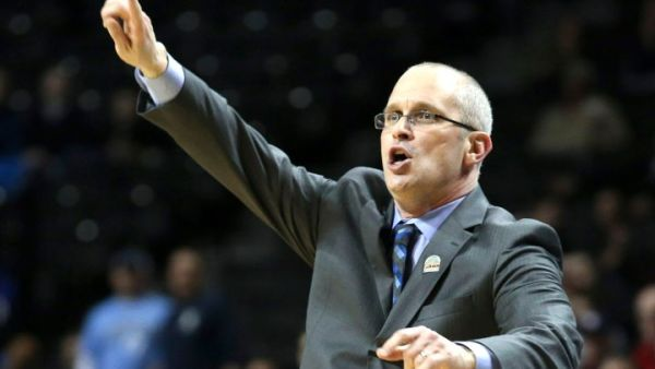 The Atlantic 10 has started the season off well so far. This week gets a lot tougher for Dan Hurley and Rhode Island - as well as the rest of the A10. (AP Photo/John Minchillo)