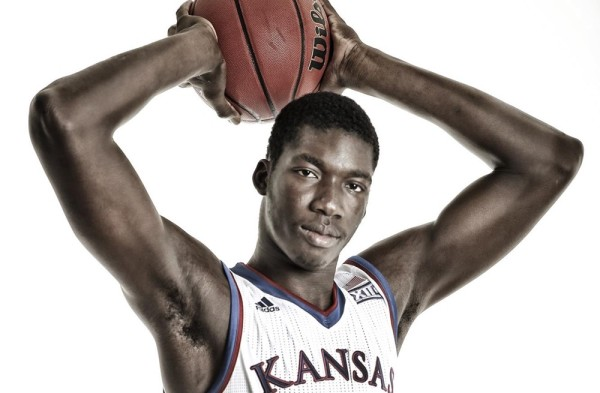 Cheick Diallo is a key piece of the puzzle for Kansas. (KU Athletics)