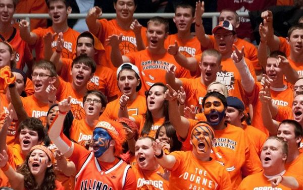 Illinois fans have had a rough go of it lately. (US Presswire)