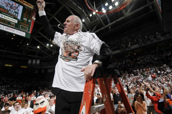 The last time Jim Larranaga had a team with great experience, Miami won the ACC in 2013. (Getty Images)
