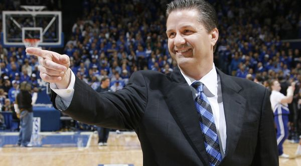 Once again, Coach Cal and Kentucky are the league favorites. (AP)