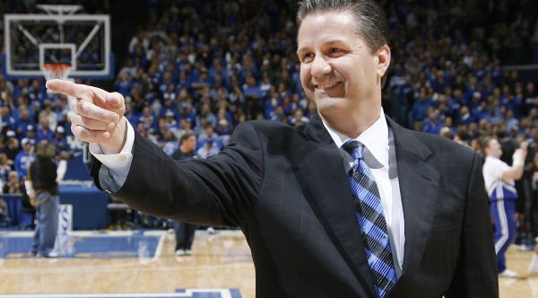 Surprise, surprise - John Calipari is cleaning up on the recruiting trail. (Getty)
