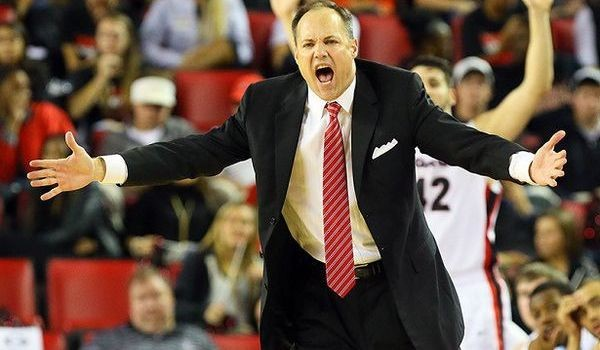 Mark Fox needs his big men to control the boards better in the coming weeks. (Atlanta Journal-Constitution)