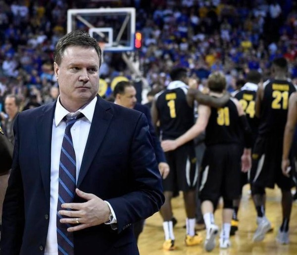 Can Bill Self turn the tide in the NCAA Tournament? (Rich Sugg/The Kansas City Star)