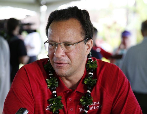Maui Did Not Go Well For Tom Crean's Hoosiers (USAT Images)