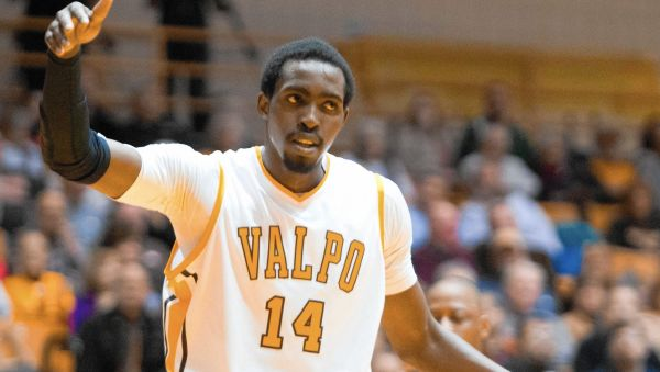 Vashil Fernandez is one of numerous legitimate weapons for Valpo. (Charles Mitchell/For The Post-Tribune)