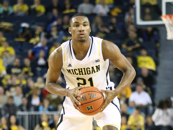 Zak Irvin will be vital if Michigan wants a road win in Raleigh against the Wolfpack. (Getty)