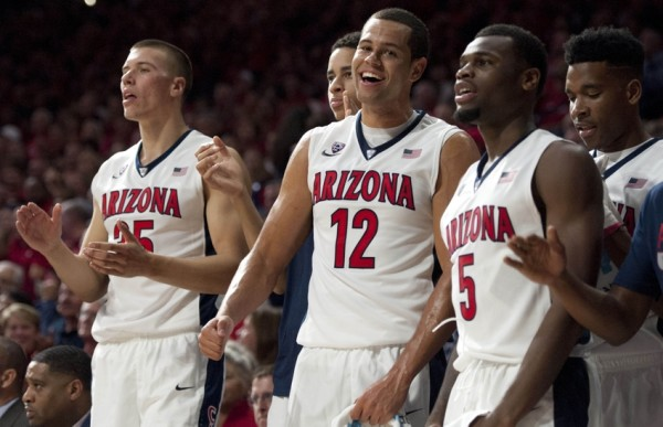 Kaleb Tarczewski, Ryan Anderson and Kadeem Allen Form The Core Of An Atypical Arizona Team (Casey Sapio, USA Today)