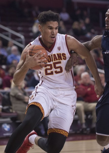 Bennie Boatwright's Inside-Outside Game Make Him One Of The Conference's Most Promising Freshmen (USC Athletics)