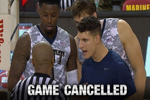 The Gonzaga-Pitt Game in Okinawa, Japan Was Canceled Because of Slippery Conditions