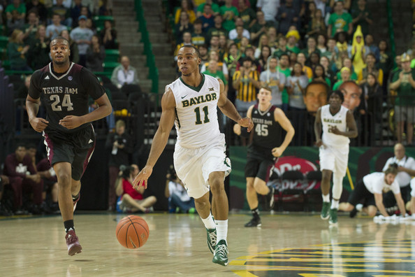 Baylor's Lester Medford will be the replacement for Kenny Chery at point guard. (Cooper Neill/Getty Images North America)