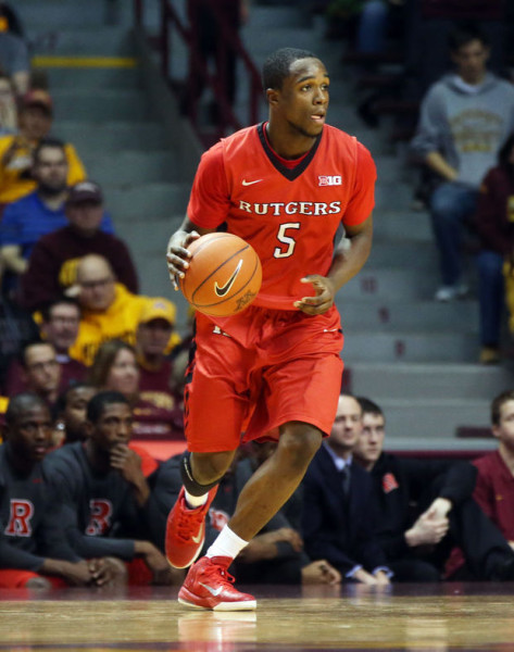 Mike Williams looks to lead the charge tonight for Rutgers against Wake Forest. (Jim Mone)