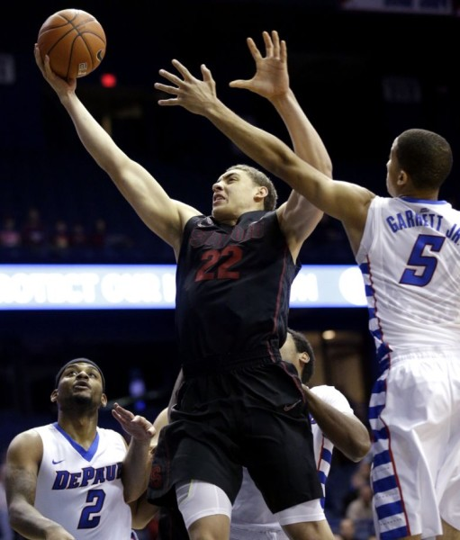Finally Healthy, Reid Travis Is Ready To Make Some Noise In Maples (Nam Y. Huh, AP)