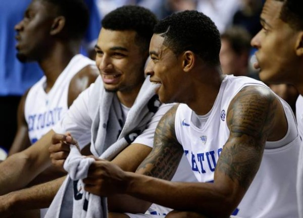 Tyler Ulis And Jamal Murray Had It Going Tuesday Night Against Duke (Photo: Staff Herald-Leader)