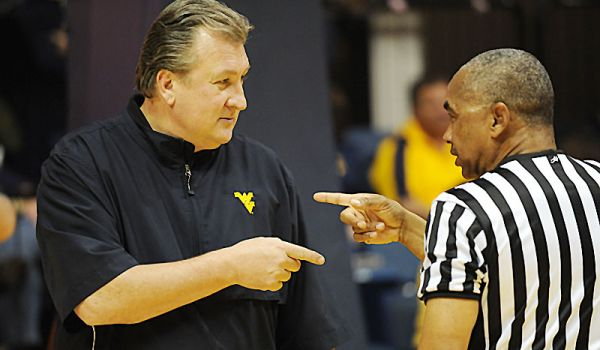 With a revamped press philosophy, Bob Huggins and West Virginia are climbing their way up the college basketball mountain. (USA TODAY Sports)