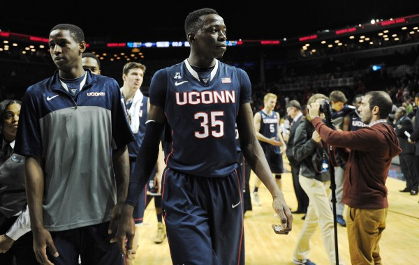 UConn will try to figure out how to handle the loss of center Amida Brimah. Photo Credit: Getty Images
